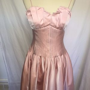 Helen Ainson Cocktail Dress Soft Pink Size 8